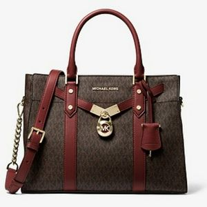 Michael Kors Large Logo Satchel